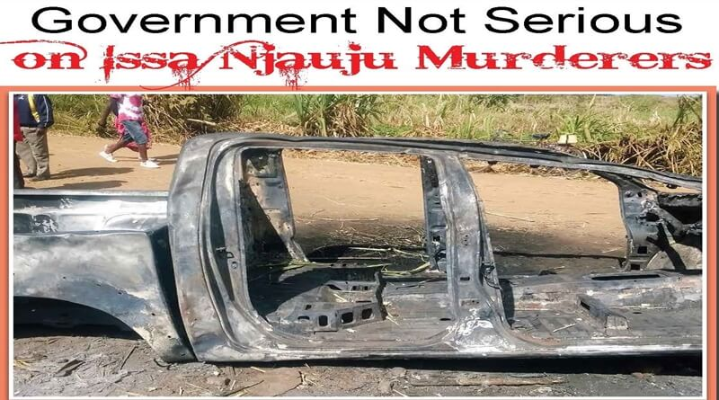 Government Not Serious – on Issa Njauju Murderers