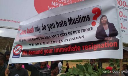Muslims's Mother Body  ( MAM) condemns Protests